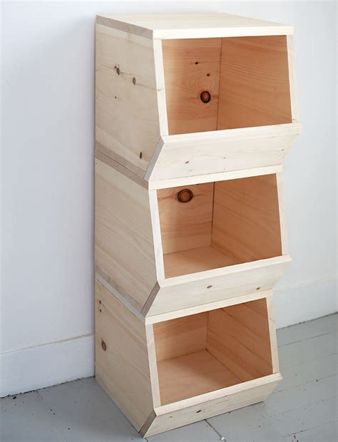 diy wooden toy bins  merrythought