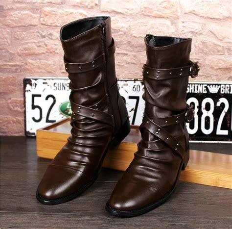Popular Mens Motorcycle Boots Buy Cheap