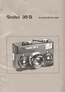 Rollei 35s Viewfinder 35mm Camera Owners Instruction