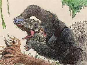 Indominus Rex vs King Kong by Mechafire1234 on DeviantArt