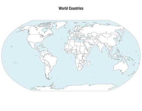 Carte Du Monde Gratuite Vectorielle by Pays Du Monde Carte Vectorielle T 233 L 233 Charger Des Vecteurs