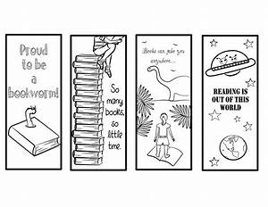 printable bookmarks for kids kiddo shelter With world book day bookmark template