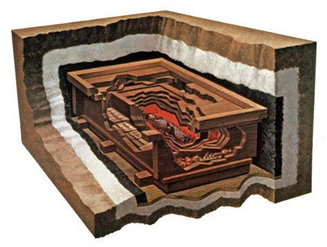 reconstruction showing the layers of the of dai mawangdui ch angsha hunan province
