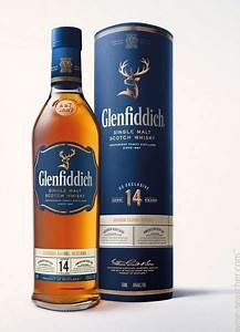 Glenfiddich Bourbon Barrel Reserve 14 Year Old Single Malt ...