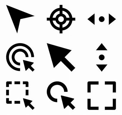 Icon Selection Cursor Cursors Icons Packs Font