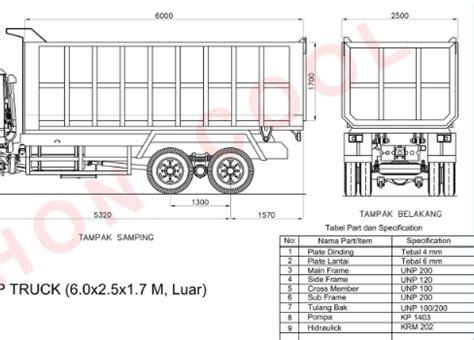 Pola miniatur ukuran kabin truk canter : Mobil Truk Pengangkut Pasir Tetap Garang Segala Kondisi Jalan
