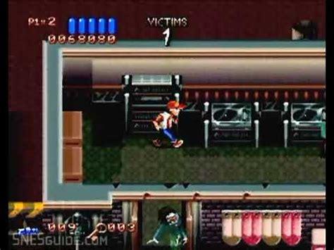 Vitamale Nes V ghoul patrol snes gameplay