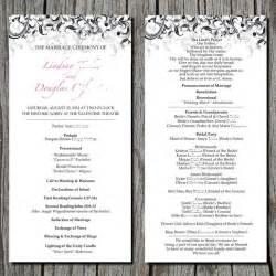 simple wedding ceremony simple wedding ceremony program