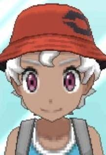 pokemon ultra sun  moon hair style hair color eye