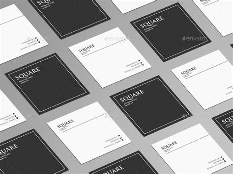 square business card mock   trgyon graphicriver