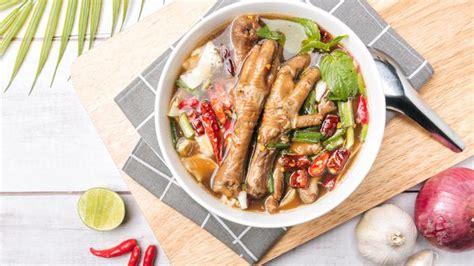 250 gr kubis 2 btg wortel 2 btg. Resep Sayur Sop Ceker Asam Pedas yang Bumbunya Meresap - Lifestyle Fimela.com