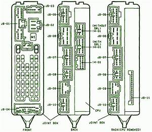 2001 Mazda 626 Fuse Box Diagram
