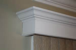 a wooden cornice for the vertical blinds on out