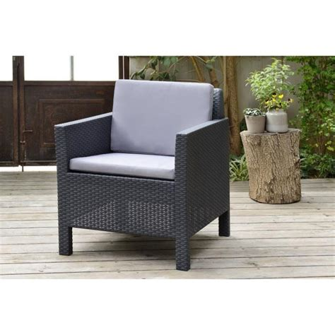 chaise de jardin en resine awesome fauteuil salon de jardin allibert images design