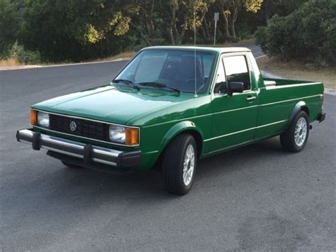 Amazing 1982 Vw Rabbit Pickup Tdi For Sale