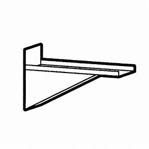 Support étagère Murale : nosem support fixe en inox pour tag re murale ~ Teatrodelosmanantiales.com Idées de Décoration