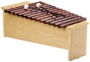 Wooden Xylophone Like Instrument