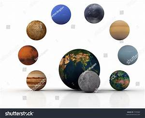 Royalty-free Earth,moon and the other planets… #7795684 ...