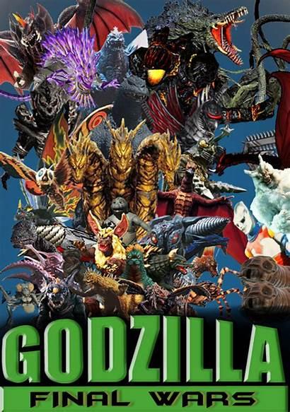 Godzilla Wars Final Poster 2004 Anthonygoody Deviantart