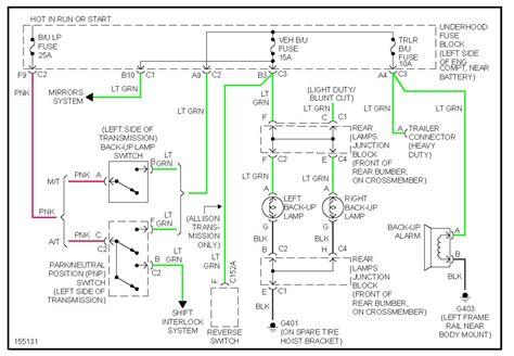 Gmc Sierra Reverse Light Problem Hello Have