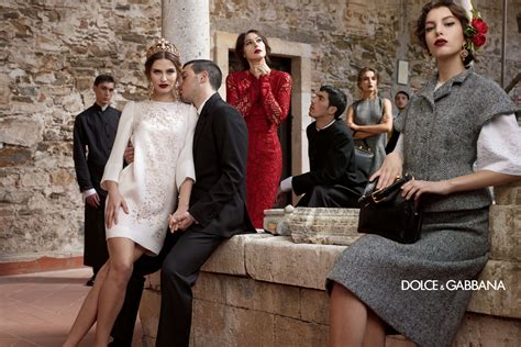 Dolce Gabba by Dolce Gabbana Advertising W 2014 Fashion Style Guru