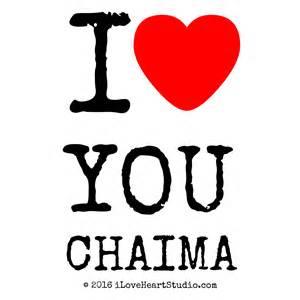 heart shaped mug 39 i heart you chaima 39 design on t shirt poster
