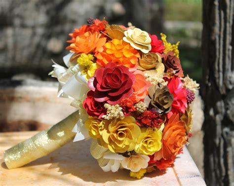 wholesale wedding bouquets   wooden flowers reduce