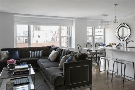 12 Living Room Ideas for a Grey Sectional   HGTV's