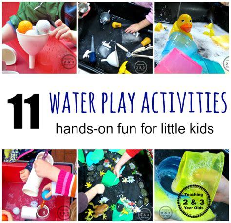 table activities for preschoolers water table activities