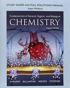 General Chemistry Mcmurry Solution Manual