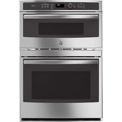 combo microwave and oven shop ge profile self cleaning convection microwave wall