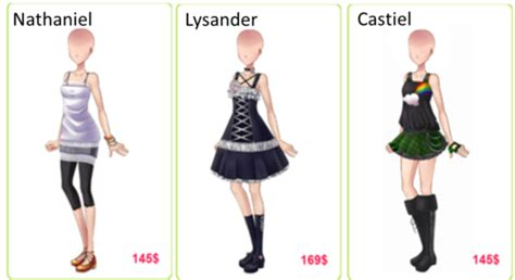 candy  love episode outfits