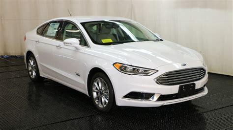 New 2018 Ford Fusion Energi Se In Quincy #f105729  Quirk Ford