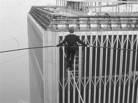 Philippe Petit Walked A Tightrope Between The Twin Towers