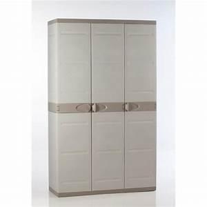 Meuble De Rangement Exterieur : plastiken armoire de rangement xxl en r sine achat ~ Edinachiropracticcenter.com Idées de Décoration