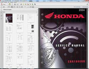 Honda Cbr1000rr  2004-2011  - Service Manual - Parts Catalogue