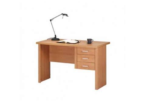 dactyl bureau office bureau 3 tiroirs leonce hêtre naturel bureaux caissons