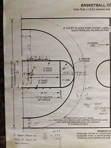 There Is His Diagram Of His Minimal Customized Half Court
