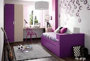 Small, Room, Ideas, For, Girls, With, Cute, Color, Popular, Purple