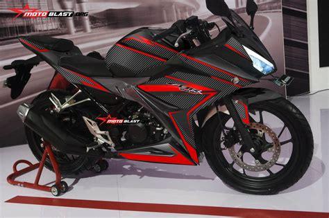 Modifikasi striping Honda All New CBR150R 2016 Black Super ...