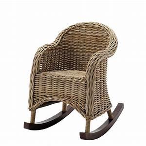 Rocking Chair Maison Du Monde : sedia a dondolo vimini per bambini design casa creativa e mobili ispiratori ~ Teatrodelosmanantiales.com Idées de Décoration