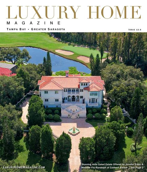 luxury home magazine tampa bay greater sarasota issue