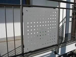 balkon sichtschutz aus metall sichtschutz andreas meier With französischer balkon mit software für garten und landschaftsbau