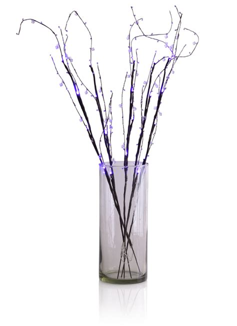 Light Up Branches by Led Light Up Branches Purple