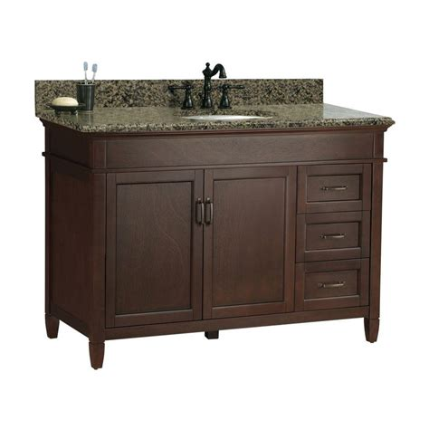 quot foremost quot ashburn 49 in w x 22 in d bath vanity in