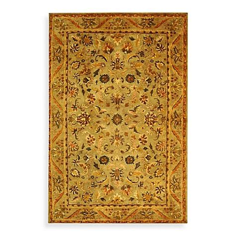 safavieh antiquities gold  sage wool rugs bed bath