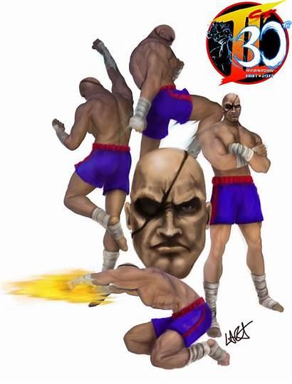 Sagat Fighter Street Muay Thai Lara Emperor