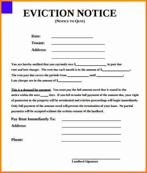free eviction forms texas texas eviction notice form template business