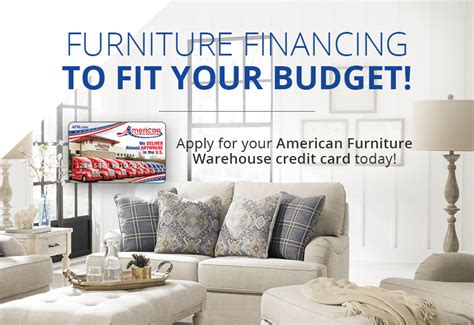 With autopay, your payment will automatically be deducted from your bank account each month on your payment due date. Furniture Financing Made Easy | American Furniture Credit Card | AFW.com