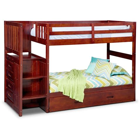 loft bed ranger bunk bed with storage stairs and